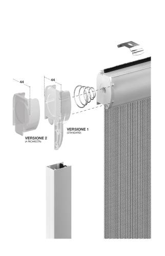 Cpz group italia klip 40 verticale cpz group italia - Smontare maniglia finestra senza viti ...